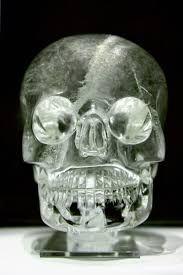 Crystal skull - British Museum