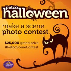 "Ready for something spooktacular? Enter our Halloween ""Make a Scene"" photo contest on Instagram. The winner gets $25,000 plus a one year supply of Old Mother Hubbard treats. Contest ends 10/27. Click through for full contest details."