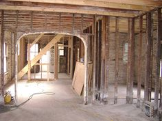 Damaged plaster removed from the first floor walls by Historic Chicago Bungalow Association, via Flickr