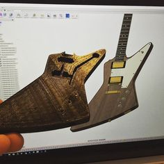 Something we liked from Instagram! Finished printing the explorer body in miniature other bits to follow!  #insta3d #cgi #rendering #de#designer #designing #rendering #render #autodesk #gibson #guitar #explorer #u2 #theedge #customshop #3ddesign #3ddesign #3dmodeling #3dmodeling #3dprinting #music #3dprint #3dprinter #3dprinting #makeraddictz #maker by daveyclk check us out: http://bit.ly/1KyLetq
