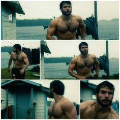 Henry Cavill - Man of Steel....I just forgot what I was thinking... Oh yeah HOT DAMN he looks good