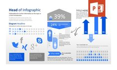 PowerPoint Infographic templates - designed for business professionals Powerpoint Layout, Powerpoint Charts, Infographic Templates, Bar Chart, Info Graphics, Diagram, Chart