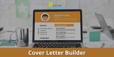 Online Resume Maker, Cover Letter Builder, Free Resume Builder, Professional Resume, Resume Templates, Create Yourself, The Creator, Lettering, Resume Maker Professional