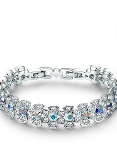 Awesome Gift of Flowers Bracelet