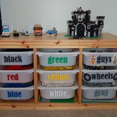 Wishful Thinking: Lego Storage