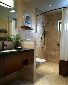 Universal Home Designs Bathrooms #DisabledBathrooms >> See more at http://www.disabledbathrooms.org/universal-design-bathroom.html
