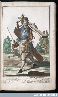 Image result for 18th century carpenter