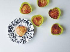 Banana-Quark Muffins Quark Recipes, Healthy Recipes, Recipe Box, Muffins, Breakfast, Food, Morning Coffee, Muffin, Essen