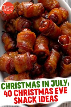 Holiday Snacks, Christmas Party Food, Xmas Food, Christmas Appetizers, Christmas Cooking, Christmas Desserts, Holiday Recipes, Christmas Food Ideas For Dinner Meals, Christmas Eve Meal