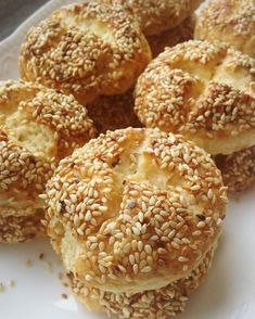 59 Sweet And Salt Donut Ideas Recipe Mix, Turkish Recipes, Bread Baking, Cake Cookies, Bagel, I Foods, Deserts, Food And Drink, Donuts