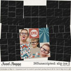 365Unscripted: Slip Ins 2 - traci reed design - The Pocket Source