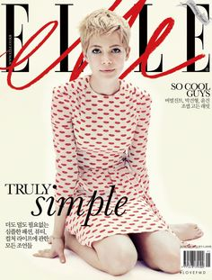 Covers of Elle Korea with Michelle Williams, 000 2012 | Magazines | The FMD #lovefmd