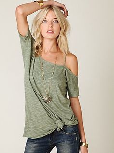 Free People Off the Shoulder Tunic  but then i think of the one sided tan im going to get :/
