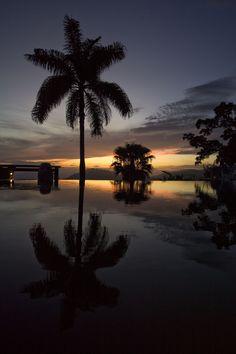 Spectacular Post Sunset Horizon at Strawberry Hill! Vacation Resorts, Best Vacations, Amazing Gardens, Beautiful Gardens, Strawberry Hill, Outdoor Venues, Blue Mountain, Diy Garden Decor, Jamaica