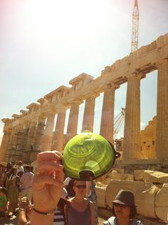 No Snails at the Acropolis as the Snail Cafe keeps them away