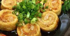 【揚げ出し風】豚肉×油揚げの「くるくる巻き」なら少しのお肉でボリューム満点! | クックパッドニュース