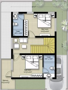 6 Creative And Inexpensive Cool Tips: Kids Bedroom Remodel Reading Nooks spare bedroom remodel murphy beds.Guest Bedroom Remodel Built Ins small bedroom remodel space saving. 20x30 House Plans, My House Plans, Duplex House Plans, Small House Plans, House Floor Plans, Row House Design, Duplex House Design, Modern Tiny House, Modern House Design