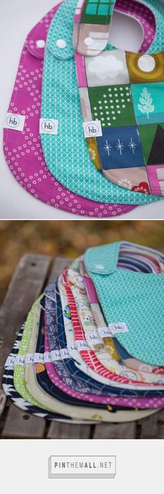 Charlie Bib Trio | Hemming Birds Boutique. Durable, absorbent, modern, fashionable bibs! Great unique gift for the babies in your life.