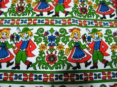 Pflegeleicht Ukadan Borkum Rapporthone Collectible Fabric BTHY ~ 100% Cotton ~ Vibrant & Stunning! Dirndl Lederhosen Dancing by Fabricatti on Etsy