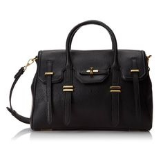 Found it. The perfect black leather bag.