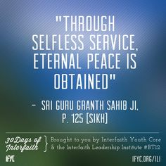 Selfless service Sikhism