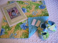 Make your own Quilted Criss Cross Baby Shoes Kit   by CurbysCloset, $20.00