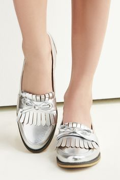 Classic loafers with a metallic twist | Sole Society Huxley