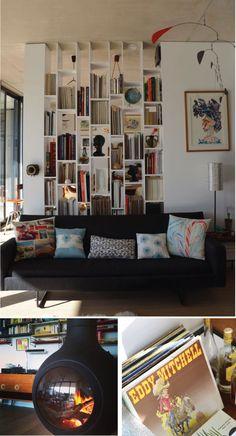 Kastidee voor de woonkamer of Mettes kamer Poppytalk: Hotel Style | Maison Jalon
