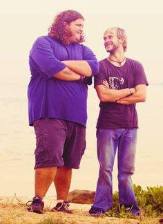 Hurley and Charlie!