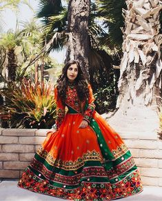 Afghan Wedding Dress, Indian Bridal Photos, Afghani Clothes, Navratri Dress, Culture Clothing, Indian Gowns Dresses, Afghan Dresses, Kurti Designs Party Wear, Queen Dress