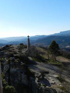 cruz conmemorativa de la liberación de Siurana