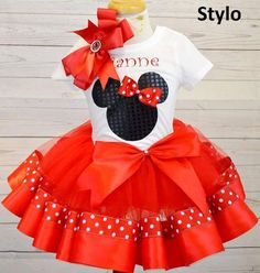 Check out this item in my Etsy shop https://www.etsy.com/listing/466559023/minnie-mouse-birthday-outfitfree