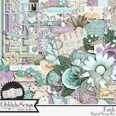 Collections :: F :: Faith by Ooh La La Scraps :: Faith Digital Scrapbooking Kit