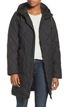 630032f3 BURTON Designer Bixby Long Down Jacket Diamond Quilt, Flannel, Jackets For  Women, Winter