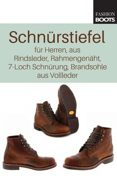 7b604ad07aebc5 Chippewa 1901G47 6 Inch Homestead Boots Schnürstiefel - braun
