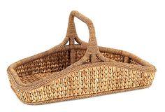 Sweater Weave Wildflower Basket on OneKingsLane.com