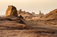 for Suryarya. Shahdad Kaluts , Lout Desert , Iran