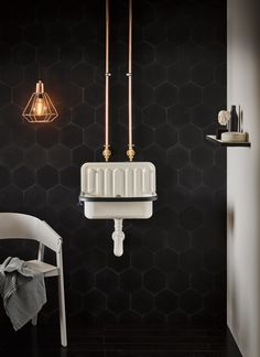 One of the hottest trends in bathrooms for 2019 is to Expose Your Hardware! Exposed hardware and piping is coming into the bathroom in a sublime way. What was once a staple for older & stately homes is now a modern trend with clean sleek lines. Alape Bucket Sink, Multiple Shower Heads, Home Design, Bathroom Basin, Unit Bathroom, Shower Screen, Simple Bathroom, Bathroom Ideas, Wet Rooms