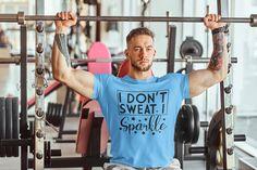Fitness Design, Gym Shirts, Workout Shirts, Bodybuilder, Powerlifting Gym, Hard Men, Gym Tops, Tank Tops, Training Tops