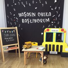 First Day School, Art Therapy, Decoration, Preschool, Children, Creative, Projects, Entering School, Decor