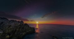 https://flic.kr/p/ysZXWA | Amazing Sunrise over Sea by Domi RCHX | Amazing Sunrise over Sea from Antibes Cap, French Riviera by Domi RCHX