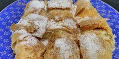 Κέικ με κρέμα και βύσσινο French Toast, Food And Drink, Breakfast, Morning Coffee