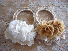 ♡ブレスレット風ヘアゴム♡の作り方|編み物|編み物・手芸・ソーイング | アトリエ|手芸レシピ16,000件!みんなで作る手芸やハンドメイド作品、雑貨の作り方ポータル