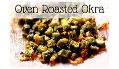 Oven Roasted Okra with crispy bits are a great side dish for your Trim and Healthy Journey. It can be mixed with eggs for a great hash or used as a snack.