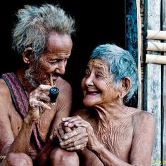love at forever sight. (oh, how old people give me hope ♥)