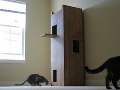 Cat Castles To Keep Your Indoor Cat Busy | DIY projects for everyone!