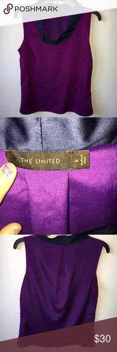 The Limited Purple Top Size Medium The Limited Purple Top Size Medium , new with tags The Limited Tops