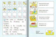 CARTILLAS 1, 2 Y 3 DEL MÉTODO FOTOSILÁBICO DE LECTURA DE PALAU
