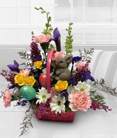 Easter flowers in broken arrow ok by rebecca's flowers & gifts