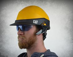 This is a hardhat designed for contractors, and managing level construction workers. It has a blue tooth headset and a flashlight, but the main idea was that it could be made into anything you need.